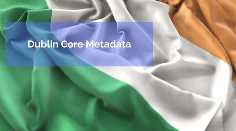 Genera tu propio código Dublin Core Metadata