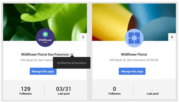 Resultado fusión G+ y Google Maps