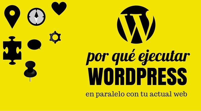 ejecurae wordpress en paralelo