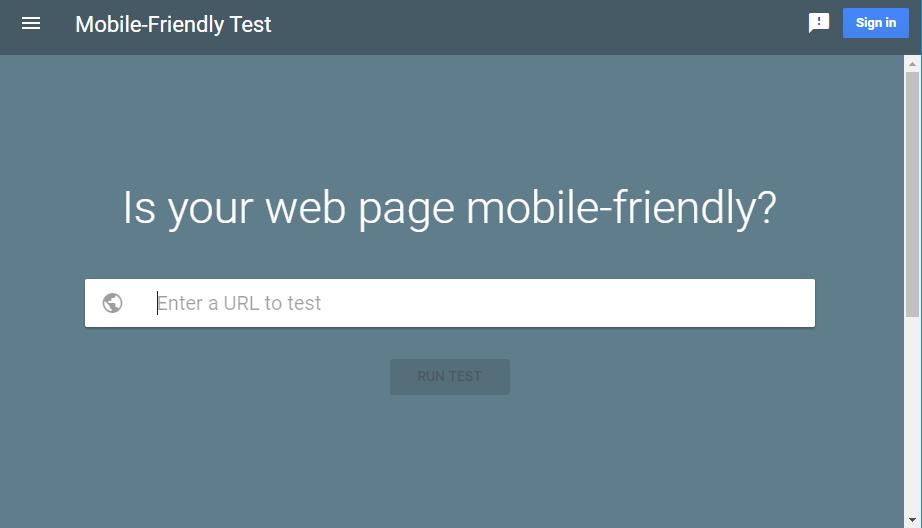 Test de Mobile-Friendly