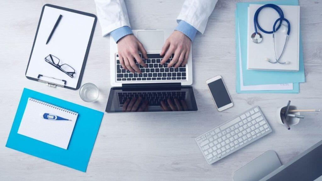 Banner comunicación y marketing sector médico
