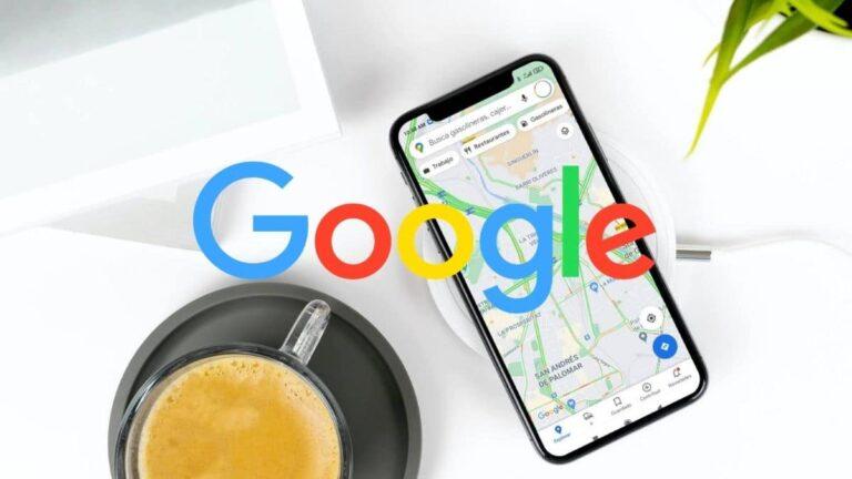congestión de tráfico en Google Maps