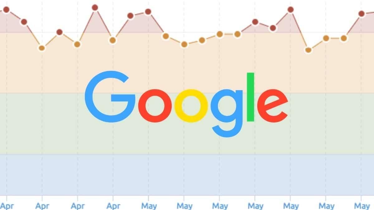 google no ha lanzado un core update desde diciembre 2020