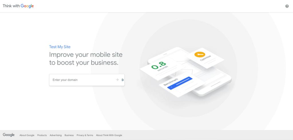 test my site de google