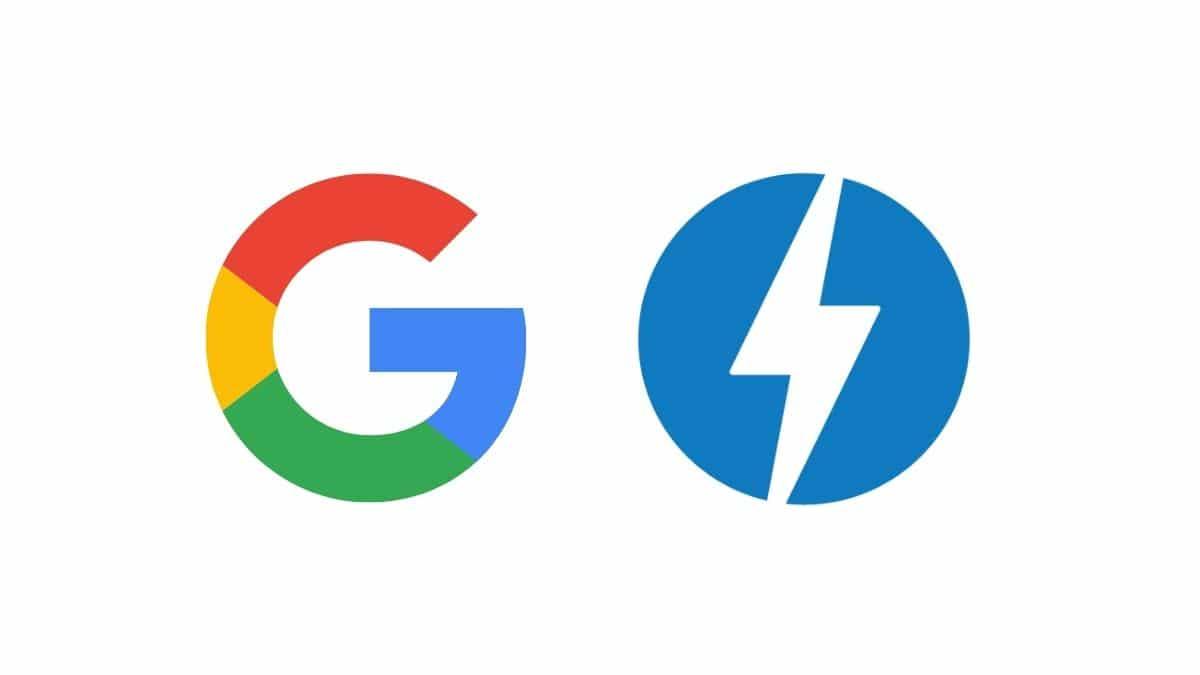 google elimina icono amp banner