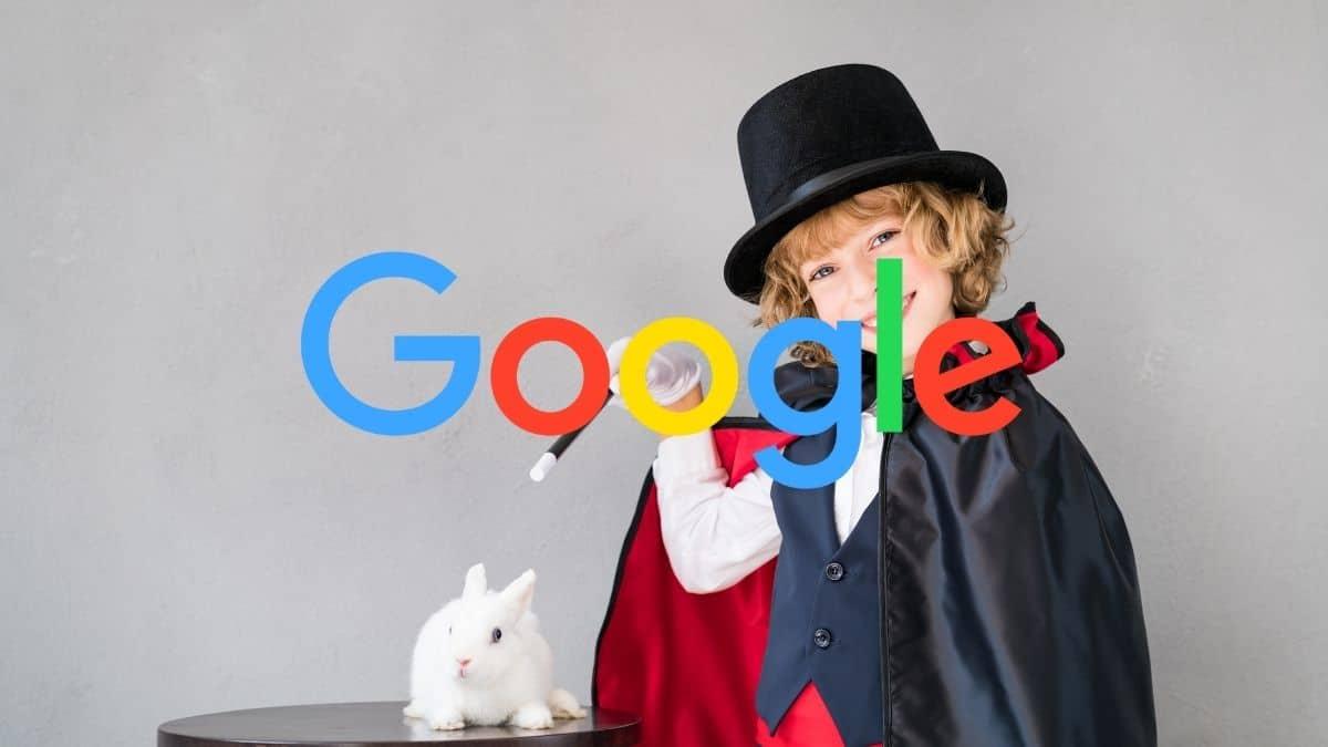 Cómo Google aplica su magia