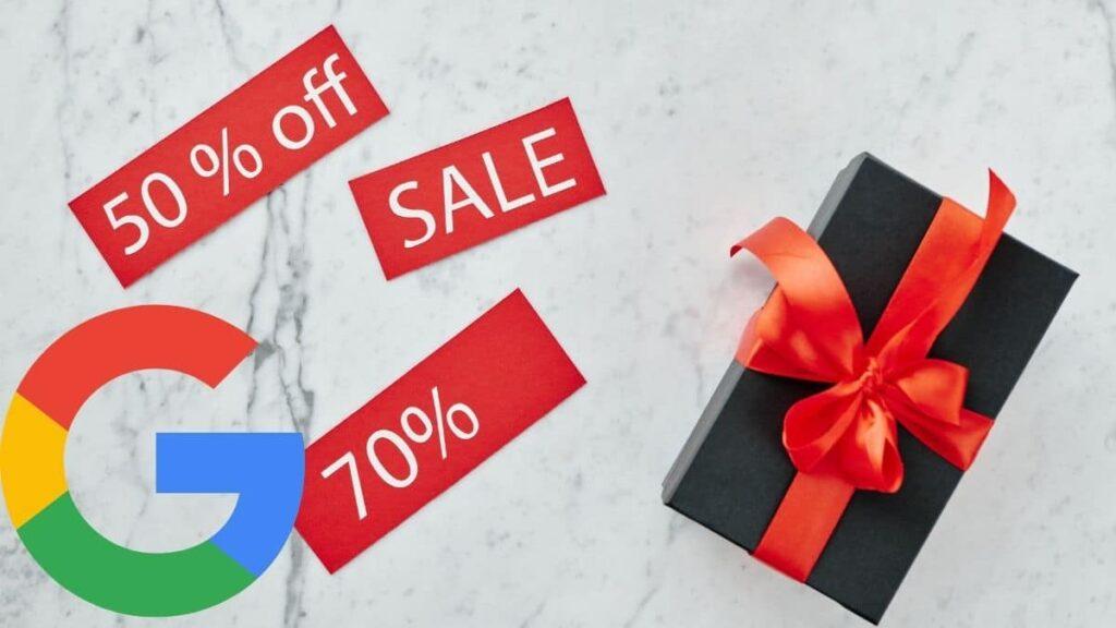 recomendaciones google dias ofertas especiales banner