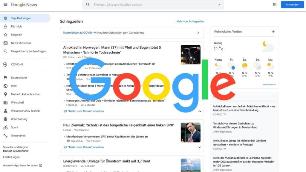 google news big moments banner