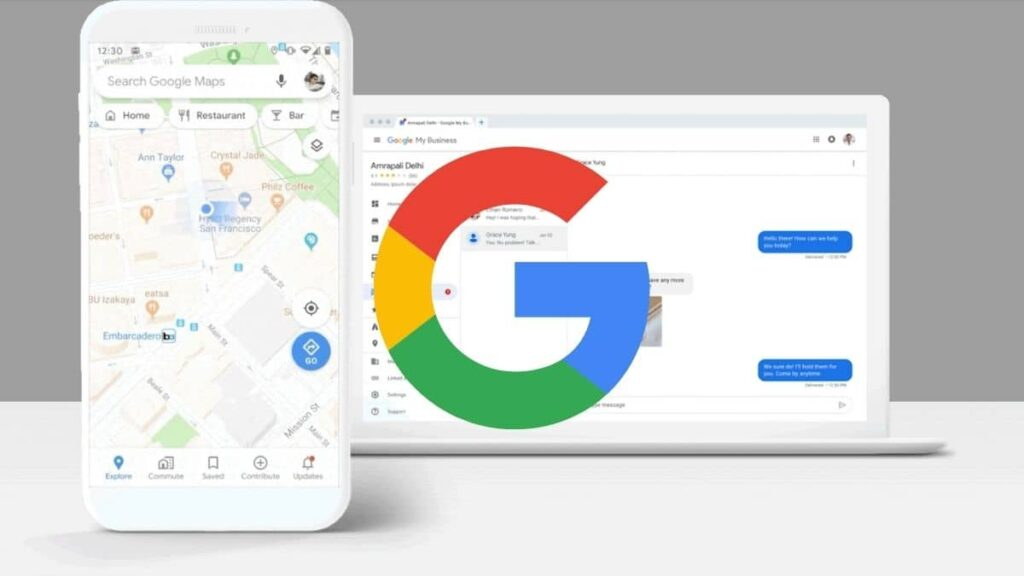 nuevo sistema mensajeria google maps banner