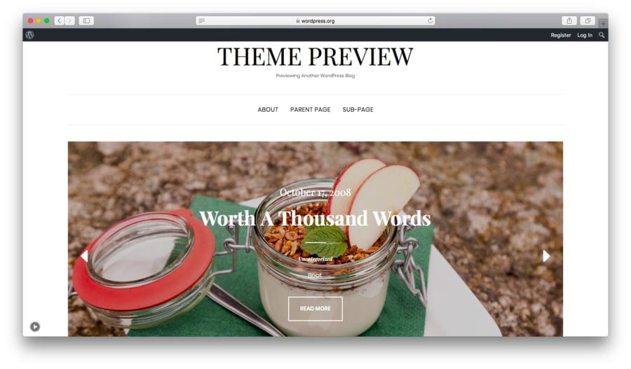 Elección de una Plantilla de WordPress Adecuada 20